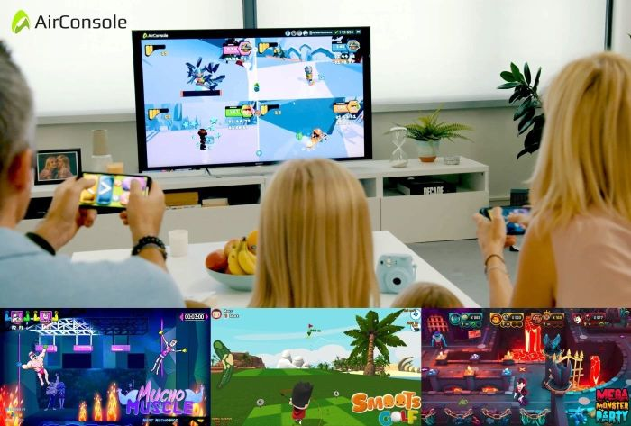 AirConsole takes on Nintendo Switch and PS4 by bringing console games to the web