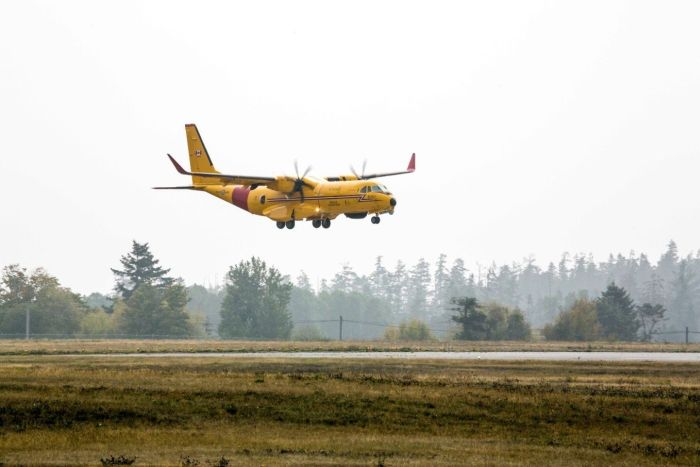 First Airbus C295 search and rescue aircraft for the Royal Canadian Air Force arrives in Canada