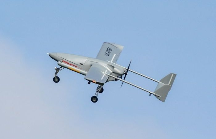 New Aerial Surveillance Capabilities with IMSAR's NSP-7 Synthetic Aperture Radar on a Primoco UAV One 150
