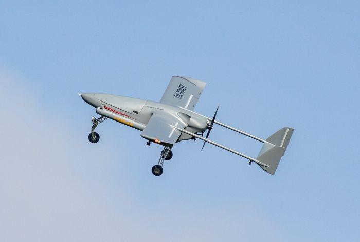 New Aerial Surveillance Capabilities with IMSAR's NSP-7 Synthetic Aperture Radar on a Primoco UAV One 150