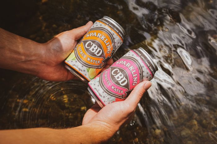 Sparkling CBD Launches First CBD Water