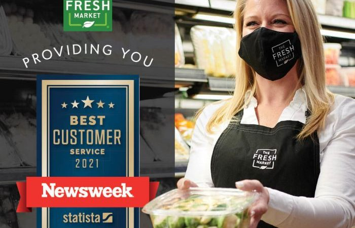 The Fresh Market Named Among Top Five Supermarkets Offering The Best Customer Service