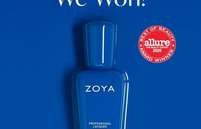 ZOYA Wins Highly Coveted 2020 Allure Best of Beauty Award